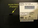 WorkForce 600 access hatch