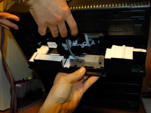 Epson Artisan 800 Mod Waste Ink Lings